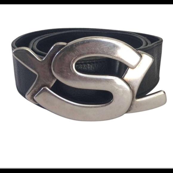 e436a63e92ab Yves saint laurent other belt poshmark jpg 580x580 Gray ysl belt